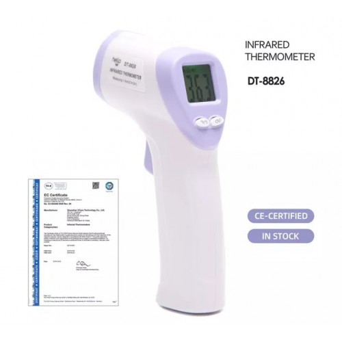 Infrared Forehead Thermo Gun  Thermometer DT-8826