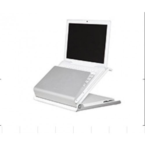 "Humanscale L6 Laptop Risers Accomodates notebooks at least 255mm (10"") wide and 150mm (6"") deep, and up to 38mm (1.5"") thick Dimensions: 345mm (13.5"") W x 275mm (10.9"") D x 255mm (10.1"") H"