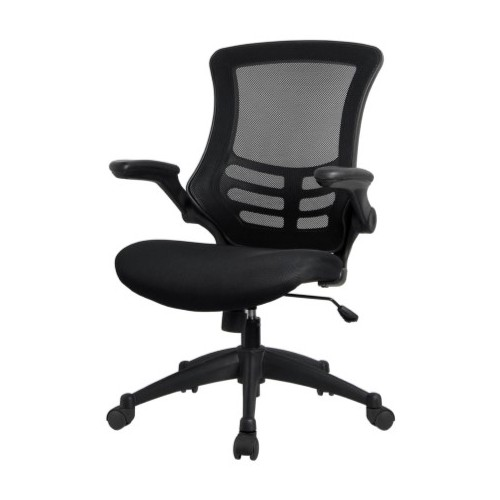 HOME OFFICE SWIVEL CHAIR (Black-)