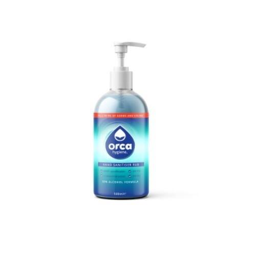 OrcaGel 500ml Alcohol Gel Hand Sanitiser 70% Alc.
