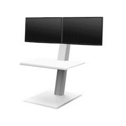 Humanscale Quickstand Eco Double sit/stand workstation Minimal, compact and portable design Weighted base, Designed to sit on existing work surface