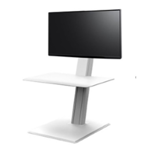 Humanscale Quic-stand Eco Single sit/stand workstation