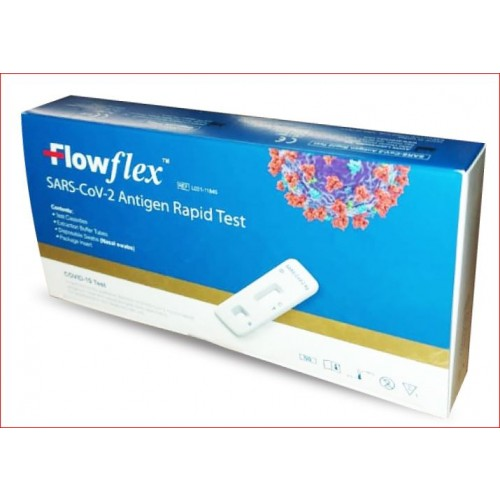 Flowflex Single Pack Covid19 SARS-CoV-2 Antigen Rapid Test Kit (Single Test)