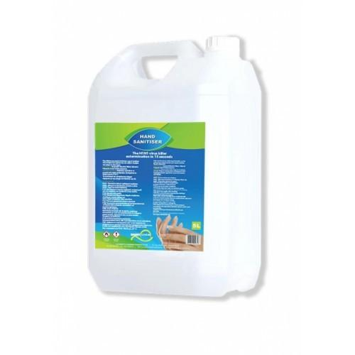 Sani Swift Hand Sanitiser Liquid 80% Alcohol 5 litre