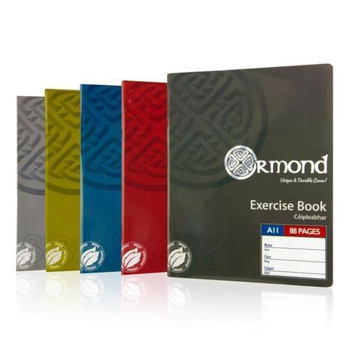 Ormond Pkt.5 A11 88pg Durable Cover Copy Book - Bold