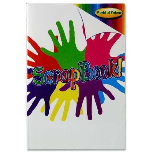 Woc A4 60pg Scrapbook 5 Asst Colour Pages