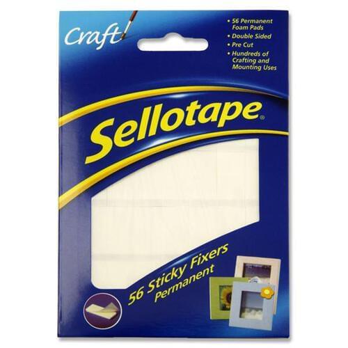 Sellotape Pkt.56 Sticky Fixers