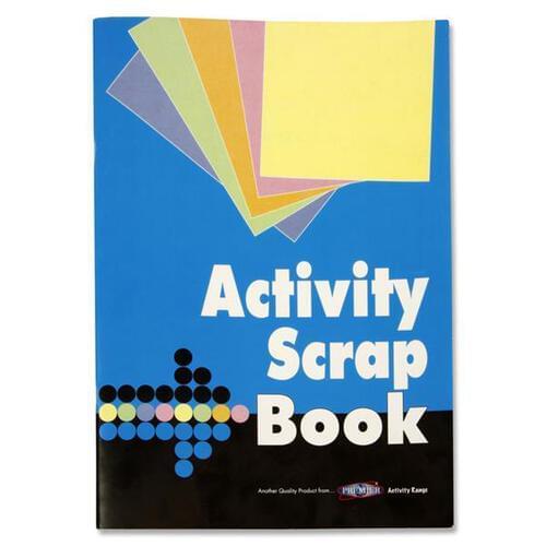 Premier 240x345mm 32pg Activity Scrapbook