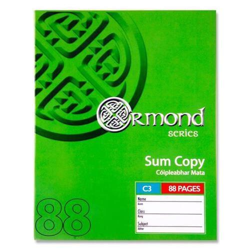 Ormond Pkt.5 88pg C3 Sum Copies  (Pack of 5)