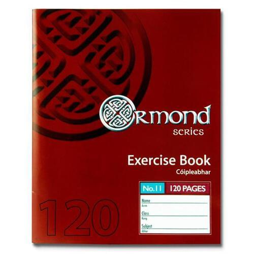 Ormond Pkt.10 120pg No.11 Copies (Pack of 10)