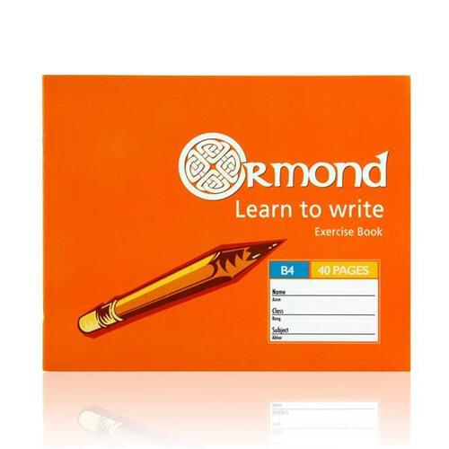 Ormond 40pg B4 Learn To Write Copy Book  (Pack of 10)