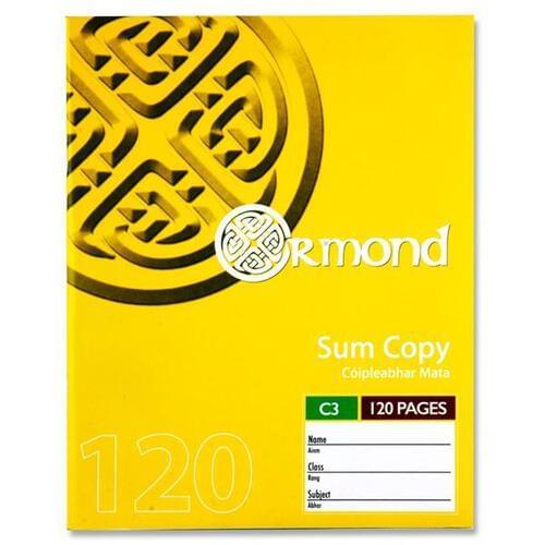 Ormond Pkt.5 120pg C3 Sum Copy  (Pack of 5)