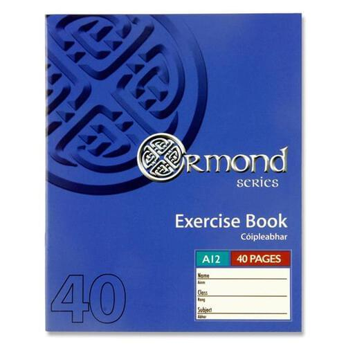 Ormond 40pg A12 Copy Book  (Pack of 10)