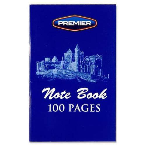 Premier 100pg Notebook (Pack of 20)