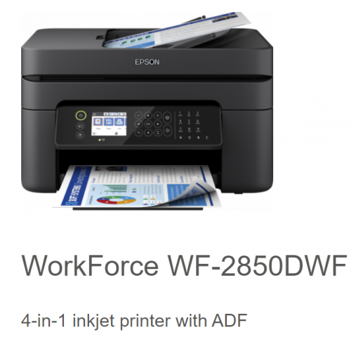 Epson WorkForce Pro WF-2850DWF