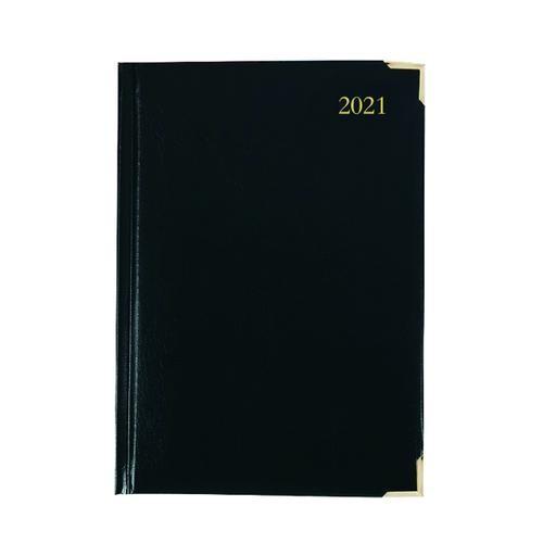 Executive Diary Day Per Page A4 Black 2021 KFEA41BK21