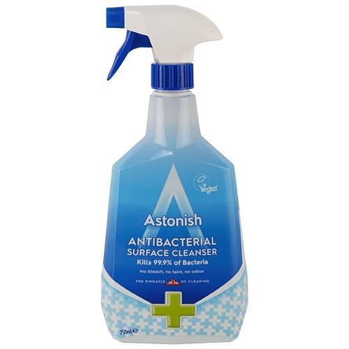 Astonish Antibacterial Surface Cleanser 750ml (no bleach)