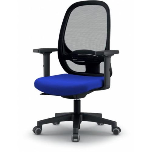 Sammy Mesh Office Chair Blue 6071