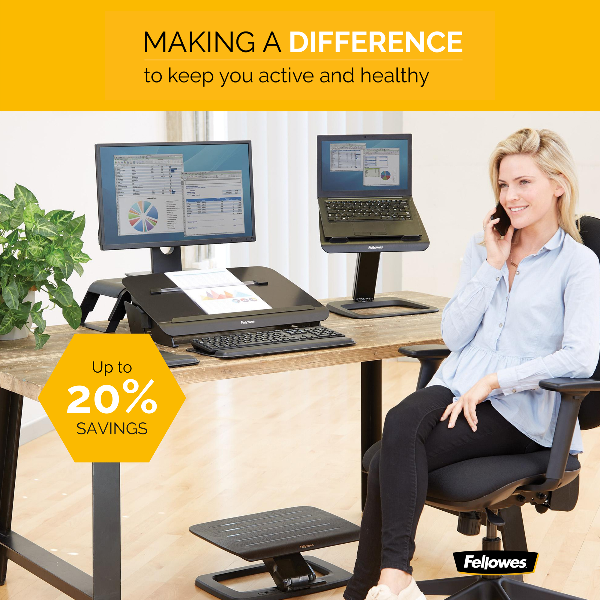 ergonomics products and text making a difference