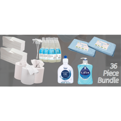 36 Piece Janitorial Bundle Deal