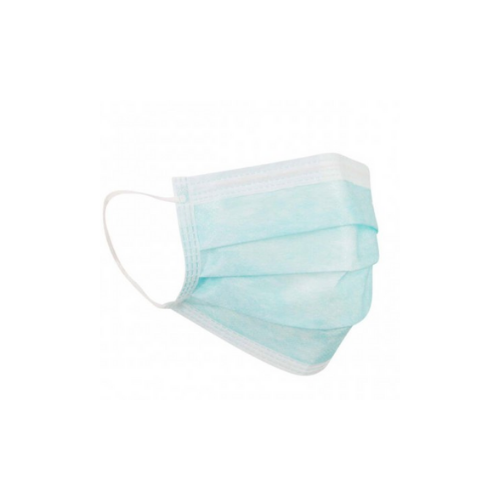 3-ply Disposable Face Covering Ear Loop [Box of 50 Masks]