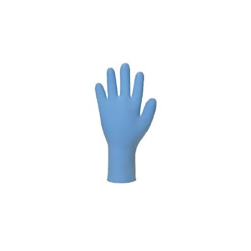 Nitrile Soft Blue Gloves Powder Free Medium  x 100 (Size Medium)