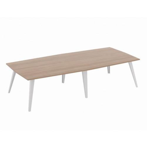 Exec Metal Leg Boadroom Table
