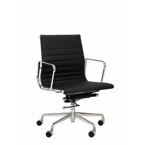 Faux Leather Meeting Chair
