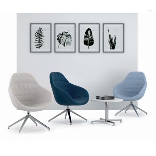 Wave Soft Back Chair
