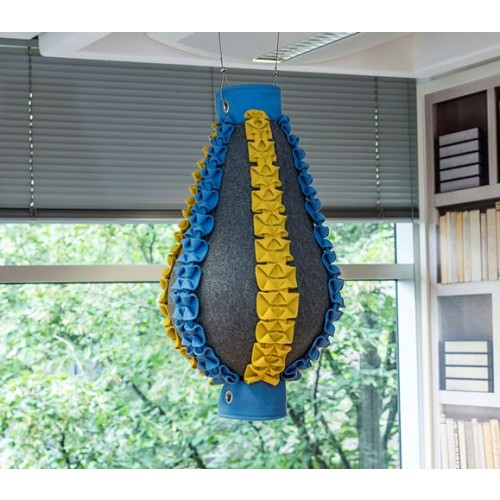 Bright, Colourful, Sound Absorbing Shapes