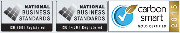 carbon smart badge, national business standards badges