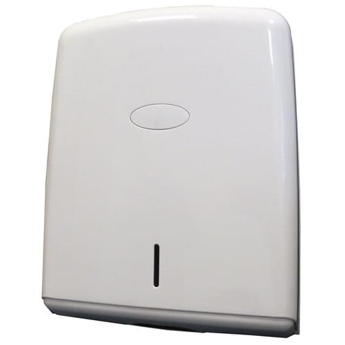 Multi Purpose Hand Towel Dispenser White
