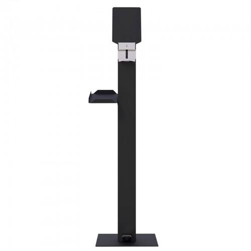 Outdoor Metal Gel Dispenser Anthracite