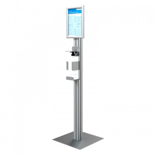 Freestanding 1L Sanitiser Dispenser Stand