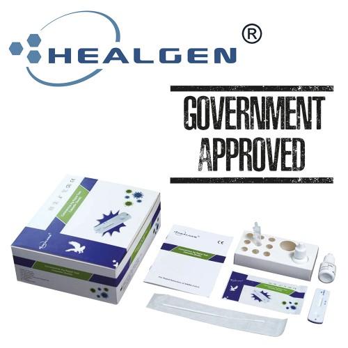 Healgen Covid-19 Rapid Antigen Test Kits Government Approved  (1 box of  x 20)