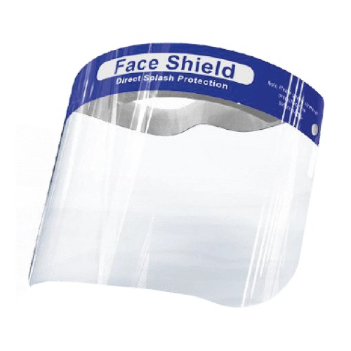 Reusable Clear Face Shield 32 x 22cm Pack 10