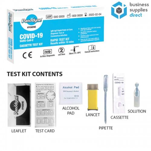Panodyne Rapid Antibody Test Kit Lateral Flow Testing (COVID-19)