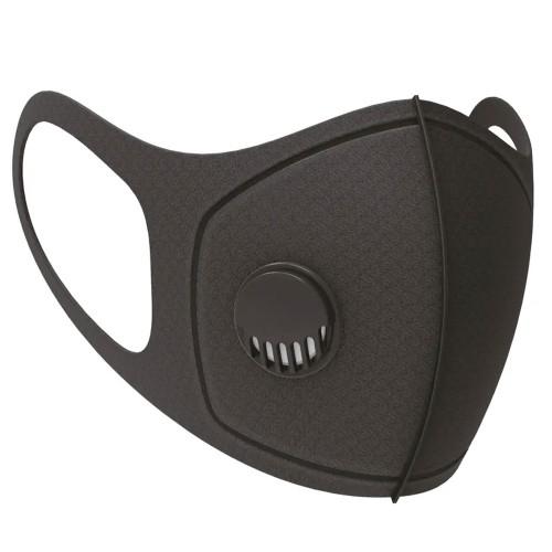 Black Sponge Face Mask With Filter SP279