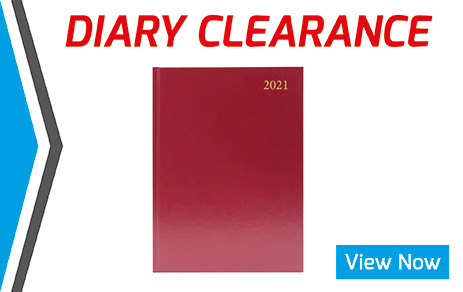 Diary Clearance Banner