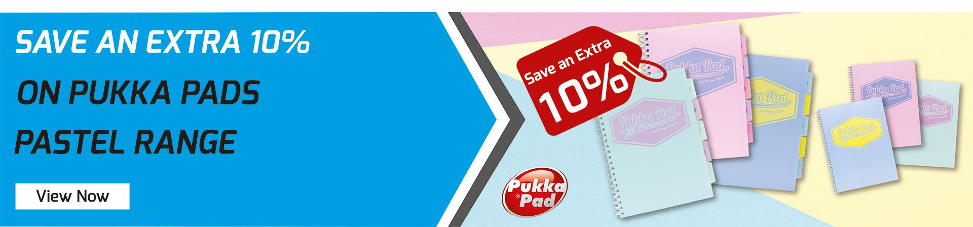 Pukka Pastel Range Extra 10%