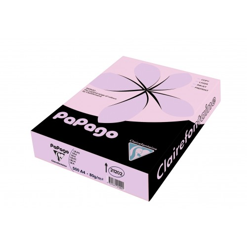 Papago Lilac Paper A4 160gsm (Single Ream)