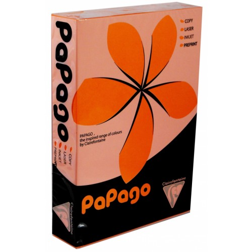 Papago Tangerine A4 Paper 160gsm (Single Ream)