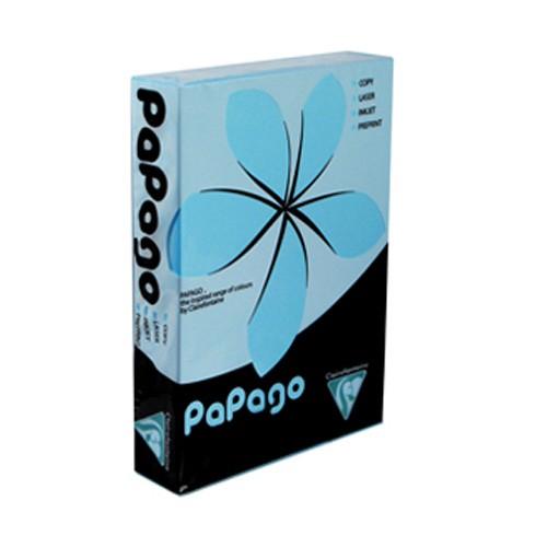 Papago Sky Blue Paper A4 160gsm (Single Ream)