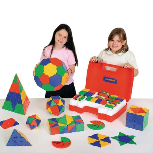 Original Polydron 266 Piece School Geometry Set