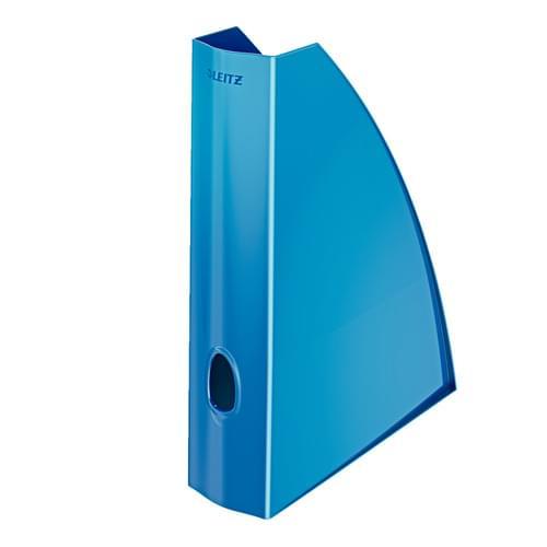 Leitz WOW Magazine File Blue
