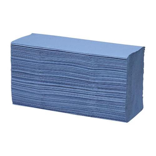 Super Saver Multifold Hand Towels Blue