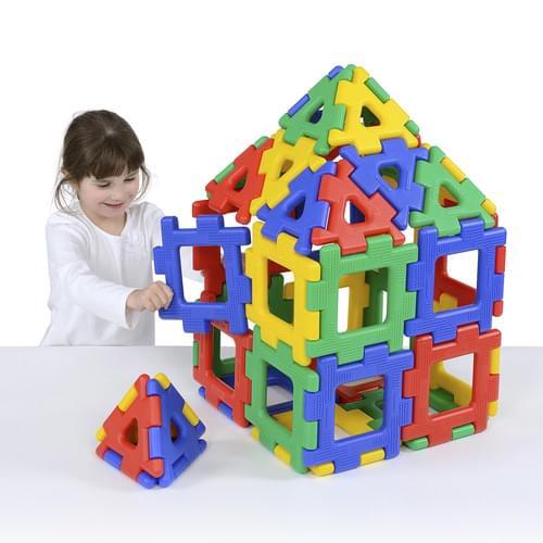 Giant Polydron 80 Piece Set