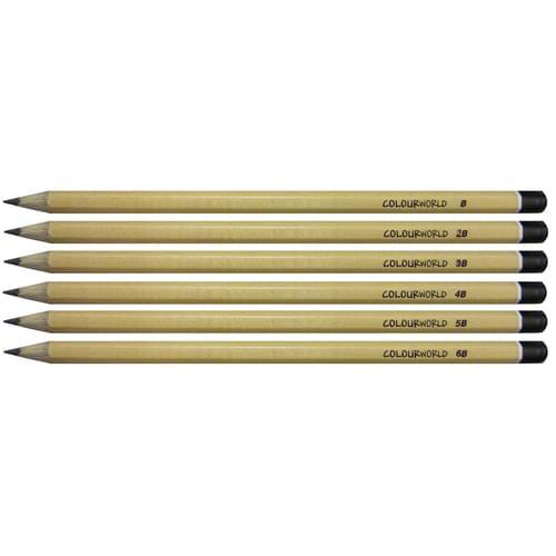 Colourworld Super Saver Sketching Pencil Set