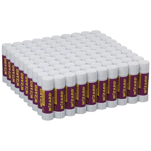 Super Saver Glue Stick Large 40g Pk100