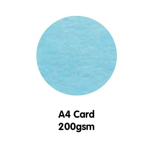 Marble Paper A4 200gsm Aegean Blue
